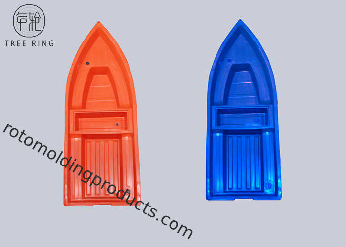 Polyethylene 6 Persons Hard Plastic Fishing Boats 800kg Loading A3.6M Flat Bottom