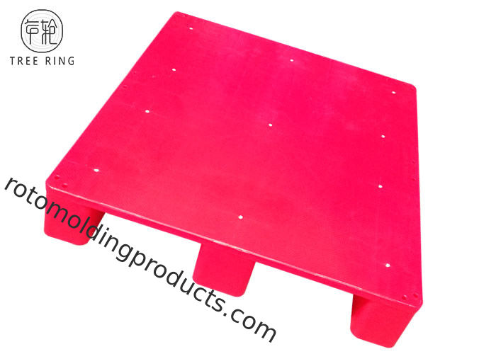 Half Size Packable Top Plastic Storage Pallets With 4 Way Entry FP 1008 Recycling