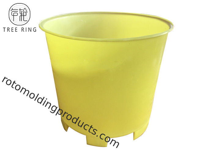 Round Industrial Bucket Poly Box Truck For Textile / Dyeing Finishing CM600 Rotomold