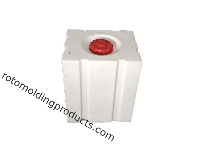 Low Profile Chemical Dosing Tank Portable 120L Square Loaf Transport Tanks For Pickup Trucks