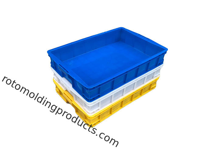 Large Stacking Plastic Turnover Box With Lids From Bread Storage Size L745*W560*H230